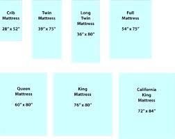 Measurement Of Queen Size Bed Us Bed Sizes Chart Standard Queen Size