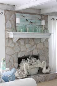 Mantel On Stone Fireplace Best 25 Stone Fireplace Decor Ideas On Pinterest Fire Place