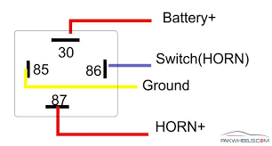 volt pin relay diagram image wiring diagram 12v 5 pin relay connection diagram wirdig on 12 volt 5 pin relay diagram