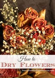 How to Dry Flowers for Crafts, Potpourri or Other Home Decor. It's really  simple