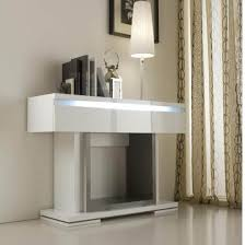 modern white console table.  Modern Renoir Console In Grey And Taupe With 1 Drawer Lights Looks Similar To  Our Dining Table Modern White Table