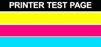 Color Laser Printer Test Page Color Test Printer Page Hp Print