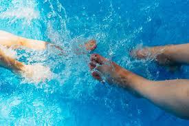 pool water splash. Pool Water Splash Feet Photo For Free Download