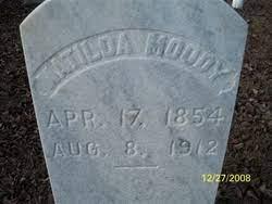 Matilda Roberson Moody (1854-1912) - Find A Grave Memorial