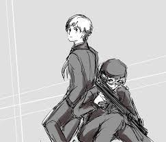 mimidan's sketchbook — Another Detective Conan x Gundam crossover Amuro...