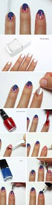 17 Easy DIY 4th of July Nail Art Designs for Short Nails | boholoco