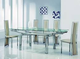 stylish black glass dining table and 6 chairs extending round glass dining table and chairs starrkingschool