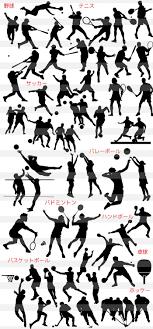 競技スポーツのイラストイラストレーター素材aieps商用可能
