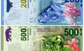 Resultado de imagen para billetes argentinos nuevos