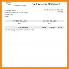 Sample Bank Statements Template 9 Bank Statement Template Letter Sample Format For Visa Willconway Co
