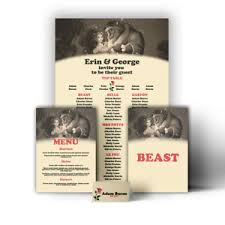 Details About Disney Themed Wedding Table Seating Plan Chart Beauty Beast Canvas Print Poster