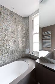 25 Charming Glass Mosaic Tiles Design Ideas For Adorable Bathroom