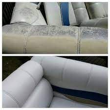 sem vinyl coat spray paint boat seats