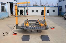 auto collision repair system frame machine