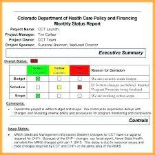 Progress Project Report Sample Project Progress Reports Docs