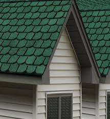 shingles red and green green roof shingles a55