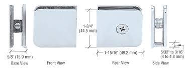 option 2 clamps shower door hardware14