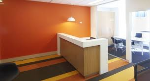 office colour design. using colour to create an impact in office design d