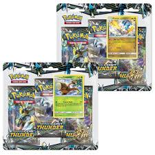 Sun & Moon Lost Thunder 3 Additional Game Cards Booster Packs 20 Pokémon  Trading Card Game Cards & Merchandise schi-brettl-werkstatt Toys & Hobbies