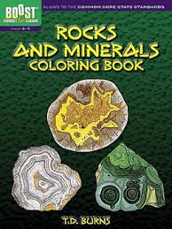boost rockinerals coloring book