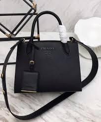 uk prada monochrome saffiano leather bag 1ba156 5b98c 25369