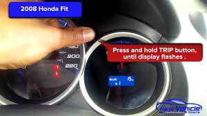 2008 Honda Fit Maintenance Light Reset 2008 Honda Fit Oil Light Reset Service Light Reset