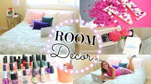 How To Decorate Your Bedroom On A Budget Easy Diy Ways To Re Decorate Your Room Youtube