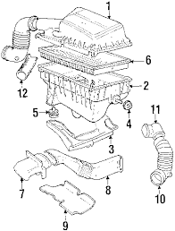 parts com® volvo mass air flow sens partnumber 1275749 1998 volvo c70 base l5 2 3 liter gas powertrain control