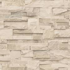 muriva bluff slate stone block brick effect wallpaper grey j20409
