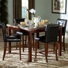 table captivating marble top counter high dining 6 awesome kitchen design ideas plus room used sets
