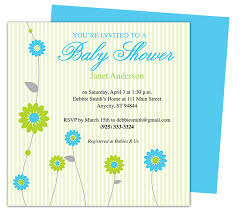 Free Baby Shower Invitation Templates For Microsoft Word Idea Free