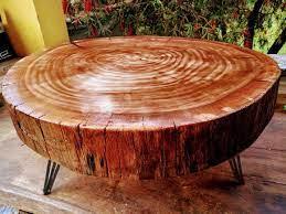 mesas feitas na base com tronco de árvore enviar a mensagem por email dê a sua opinião! Mesa De Centro Em Tronco 60cm Com Hairpinleg Triplo No Elo7 Ocardamomo Decor 1284165