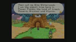 Flower Fields Paper Mario Wise Wisterwoods Welcome Paper Mario Walkthrough Neoseeker