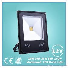 dc12v led flood light led spotlight 10w 20w 30w 50w 100w white red blue green yellow outdoor spotlight light led floodlight marine led flood lights outdoor