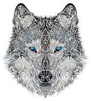 Vlk Tetování Vzor3jpg Motivy Tetování Vzor Tetování