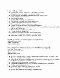Environmental Health Safety Engineer Sample Resume Awesome Safety Officer Resume Sample Greatest Safety Ficer Resume Marvellous