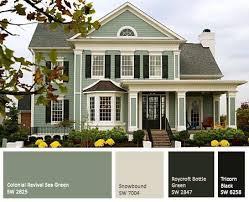 Exterior House Paint Design New Decorating Design
