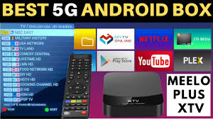 BEST 5G ANDROID IPTV BOX | MEELOPLUS XTV 5G TV Box | Is it better than MAG IPTV  box? - YouTube