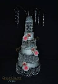 i tags chandelier cake stand wedding cake stand crystal