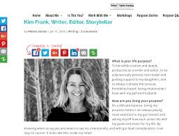 essays and interviews kim frank finding your life s purpose interview ht stelian