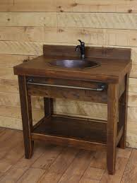 rustic bathroom vanities. rustic bathroom vanity reclaimed wood vanities collection