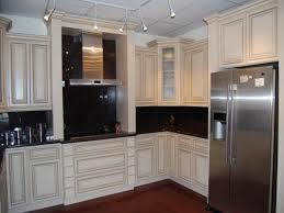 Small Kitchen Color Scheme Kitchens With White Appliances And Dark Cabinets Small Kitchen