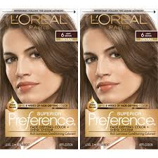 Loreal Light Brown Details About Loreal Paris Superior Preference Permanent Hair Color 6 Light Brown 2 Pack