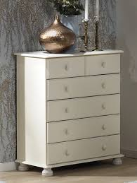 Richmond White 2 plus 4 Chest | Bedroom Furniture Direct