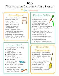 montessori practical life skills mama s happy hive 100 montessori practical life skills