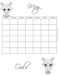calendar for the month of may august monthly coloring calendar http www kidscanhavefun com