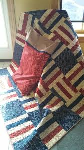 We used our FREE  Lake and Logs  pattern to create this patriotic ... & We used our FREE