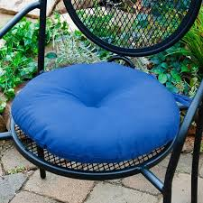 amazing round outdoor seat cushions greendale home fashions 15 in round outdoor bistro chair cushion