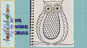 Small Picture How to Draw Easy Owl Coloring Pages for Beginners and Kids