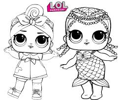 Doll coloring pages for kids. Lol Doll Coloring Pages Coloring Rocks